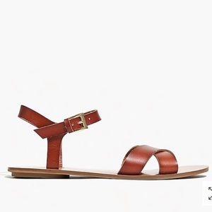 J. Crew Shoes - J. Crew cross cross sandals
